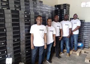 SNEW Ghana team